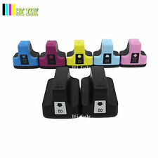 7 Pk 02 Ink Cartridge For HP 02 Photosmart C7280 3310 D7360 D7160 C5180 8250