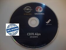Opel Alps CD70 DVD90 navigations disc 2014/2015