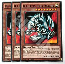 DPBC-EN043 x3 BLUE-EYES TOON DRAGON (DRAGO TOON OCCHI BLU) Common Yugioh