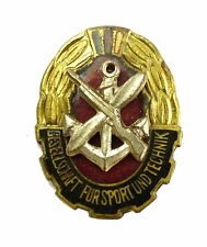 #e6300 Mitgliedsabzeichen der GST, emailliert, verliehen 1952-60, vgl. Nr. 1 d