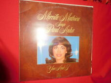 MIREILLE MATHIEU Sings PAUL ANKA You and I LP 1980 ITALY MINT-