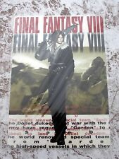 Final Fantasy VIII SQUARE ENIX Japan Official Pencil Sheet Yutaka Squall
