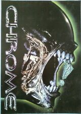 Chrome Rave Flyer, The Warehouse, Plymouth. 20/4/96. Roni Size, SS, Apache.