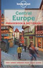 CENTRAL EUROPE PHRASEBOOK - WITH TWO-WAY DICTIONARY LONELY PLANET TRAVEL AS NEW