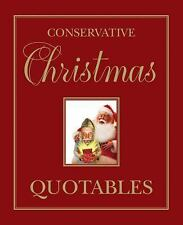 Conservative Christmas Quotables (2016, Hardcover)