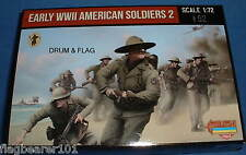 STRELETS SET M 113. EARLY WWII AMERICAN SOLDIERS 2. 1/72 SCALE