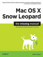 Mac OS X Snow Leopard: The Missing Manual (Missing Manuals) by Pogue, David, Goo