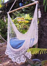 HAMMOCK CHAIR CROCHET/NICARAGUAN HAMMOCK HANDMADE /ROPE HAMMOCK INDOOR OUTDOOR