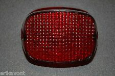 Harley Davidson Tail Light Lens Fits many Models - Removed Frm Bike