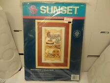 """Sunset Cross Stitch Kit Southwest Collection, 10""""x 16"""" w/o Mat (New)"""
