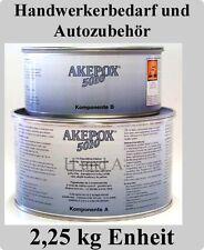 AKEMI Akepox 5010 Steinkleber 2,25 kg / Epoxykleber 2K Kleber Zweikomponenten