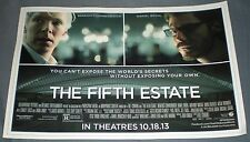 THE FIFTH ESTATE 2013 Movie Advertising Sign Newspaper Kiosk/vending machine