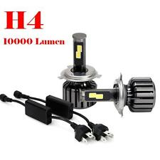 H4 9003 HB2 120W 10000LM CREE ChipsLED Headlight Kit Hi/Lo Beam Bulbs 6000K