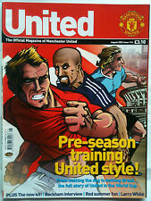 No 118 Manchester United Official Magazine August 2002