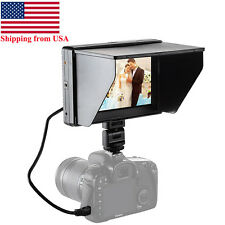 US Mcoplus 7''DC-70II 1240x600 Resolution HD LCD Monitor HDMI/AV for DSLR Camera