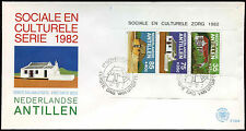 Netherlands Antilles 1982 Local Houses M/S FDC First Day Cover #C26736