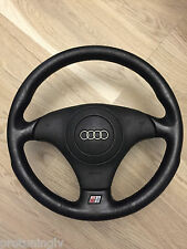 Audi S4 RS4 B5 Leather Steering Wheel and airbag Used may fit A3 8L A6 C5 A8 D2