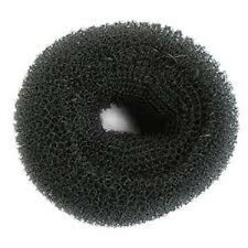 SIBEL Hair Donut Bun Ring Hairdressing Extra Large (11cm) Bun Ring - BLACK
