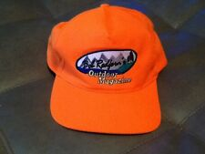 Ed Redferd's Outdoor Magazine Tv Hat Rare Cap Hunting Fishing Show