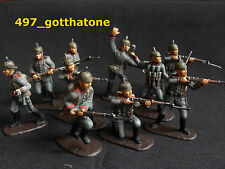 AIP/airfix 1/32 professionally painted German  infantry pickelhaubes WW1  54mm