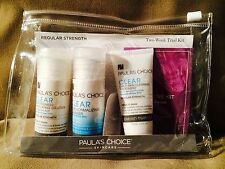 *LOWEST PRICE!* Paula's Choice Skincare *Clear Acne Kit*-3 Piece Kit/Trial Size
