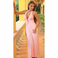 Nightgown Sexy Fashion Sleepwear Lingerie Nightwear Women Lounge Long Pajamas