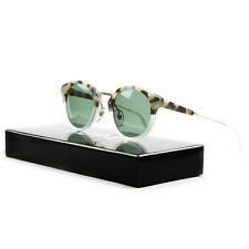 RETROSUPERFUTURE Super Panama Sunglasses SU477 Matte Puma Crystal / Green Lenses