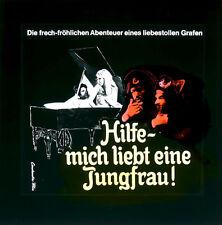 Hilfe - mich liebt eine Jungfrau ORIGINAL Kino-Dia / Film-Dia / Diacolor/ Wolter
