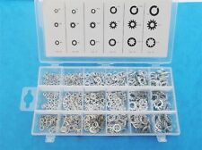 720PC  SPRING / STAR LOCKING WASHER ASSORTMENT IN STORAGE CASE very Handy