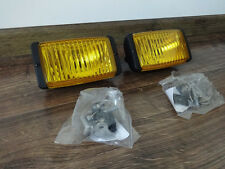 HONDA CRX JDM 88-91 LHD Yellow Foglights EF SI-R Halogens euro FOG LIGHTS NEW!