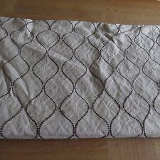 Massive remnant john lewis gris ellewood knot ameublement tissu-env. 140cmx1.6M