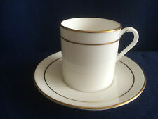 Royal Worcester Contessa coffee can & saucer (very minor rim gilt wear on cup)