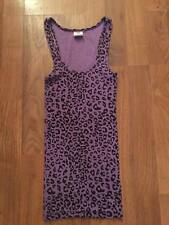 VICTORIAS SECRET PINK RIBBED TANK. PURPLE/BLACK SZ XS