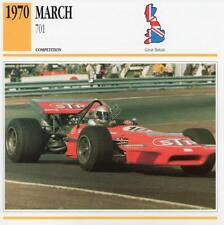 1970 MARCH 701 Racing Classic Car Photo/Info Maxi Card