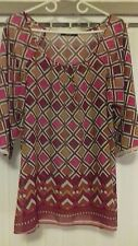 womens top size 18 George. Geometric print. Great summer/beach wear. used vgc