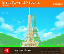 New Eiffel Tower 3D Wooden Puzzle