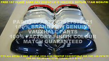 NEW N/S GENUINE VAUXHALL MK5 ASTRA H PAINTED  DOOR WING MIRROR COVER SRI SXI XP