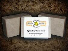 Homemade Soap SPICY BAY RUM *Sundance Soapery*Handmade All Natural Soap