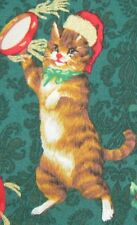 Hoffman Fabric-CATS(kittens) Christmas Party! By the Yard