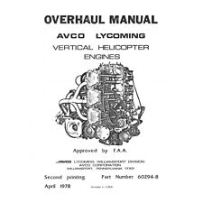 Lycoming Vertical Helicopter Engine Overhaul Manual
