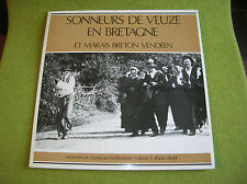 DOUBLE LP SONNEURS DE VEUZE EN BRETAGNE-MARAIS BRETON VENDEEN - SCM 010 Breiz