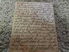 EUC Stampin Up FRENCH SCRIPT Retired Background Cursive Elegant Writing