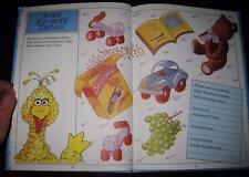 1983 Sesame Street 'My Memory Book'~UNUSED Blank Fill-in Baby Grow Book