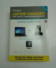 ***Targus Laptop Charger + USB Tablet/Smartphone Charger***