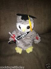 NEW DAN DEE SCHOOL GRADUATION OWL SHAKES AND TALKS  NOVELTY TOY