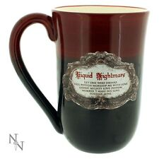 MUG CUP LARGE LIQUID NIGHTMARE WORSHIP NEMESIS NOW NEW HALLOWEEN NOVELTY