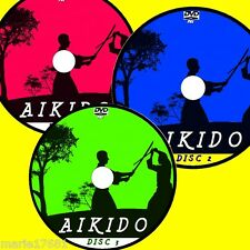 YOSHINKAN AIKIDO VIDEO FULL 3 DVD SET EASY TO FOLLOW STEP BY STEP LESSONS NEW