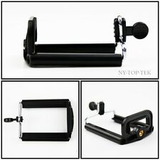 Universal Phone Clip Holder Bracket Camera Tripod Adapter for iPhone Smartphone