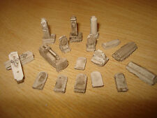 NEW 12  N Gauge gravestones mixed suits  all layouts asessories train sets