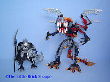RARE Lego Bionicle 10204 VEZON & KARDAS Special Edition - Complete figures only